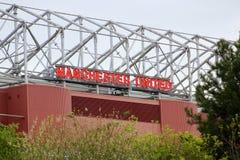 Opinião lateral velha de Trafford Fotografia de Stock