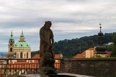 Opinião Lesser Town Fotografia de Stock Royalty Free