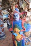 Opinião Linh Phuoc Pagoda Foto de Stock