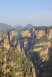 Opinião mansan do penhasco de Tien em Zhangjiajie Imagem de Stock
