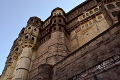 Opinião Mehran Fort Fotos de Stock Royalty Free