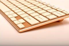 Opinião moderna do close up do projeto do teclado Imagens de Stock