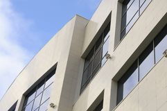Opinião moderna do edifício fotografia de stock