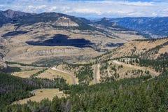 Opinião Montana Mountains EUA Fotos de Stock