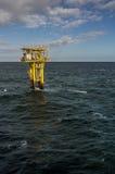 Opinião 2nãa pilotado do retrato da plataforma do gás da BG do Brigantine Imagem de Stock