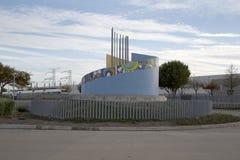 Opinião norte da estação de Carrollton Frankford Imagens de Stock