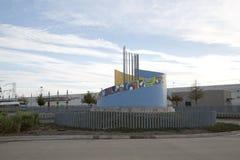 Opinião norte de Texas da estação de Carrollton Frankford Imagens de Stock Royalty Free