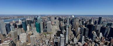 Opinião norte do Empire State Building Imagens de Stock