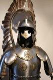 Opinião o cavaleiro europeu Armor imagens de stock