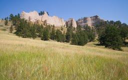 Opinião o Ridge no forte Robinson State Park, Nebraska Imagem de Stock Royalty Free