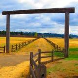 Opinião ocidental velha histórica do forte Foto de Stock Royalty Free
