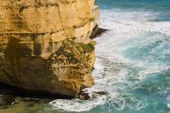 Opinião os 12 apóstolos na grande estrada do oceano, Melbo Imagem de Stock Royalty Free