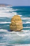 Opinião os 12 apóstolos na grande estrada do oceano, Melbo Imagem de Stock