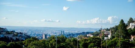 Opinião Papa Square de Belo Horizonte fotos de stock