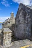 Opinião perto do porto, Scotland2 de Lerwick Imagens de Stock Royalty Free