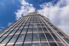 Opinião próxima de Burj Khalifa Fotografia de Stock