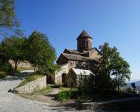 Opinião principal da igreja do monastério de Sapara fotos de stock royalty free