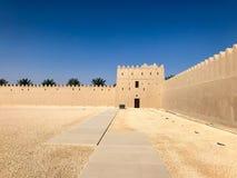 Opinião Qasr Al Muwaiji fotografia de stock royalty free