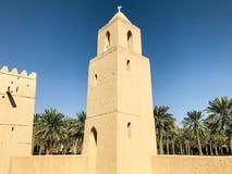 Opinião Qasr Al Muwaiji fotografia de stock