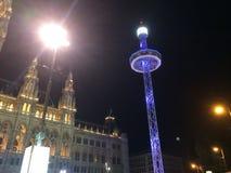 Opinião redonda da torre acima de Viena Imagem de Stock Royalty Free