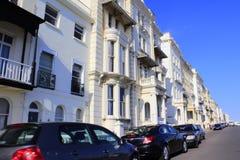 Opinião Reino Unido da rua de Hastings Imagens de Stock