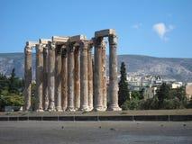 Opinião romântica de Santorini Foto de Stock