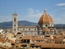 Opinião Santa Maria del Fiore, Florença, Itália Fotografia de Stock Royalty Free