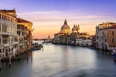 Opinião Santa Maria della Salute Fotos de Stock Royalty Free