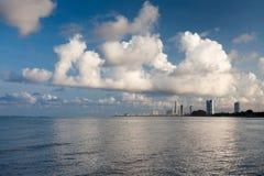 Opinião Siam Gulf por Pattaya Fotografia de Stock