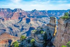 Opinião sul da borda de Grand Canyon Imagem de Stock