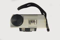Opinião superior da câmera do clássico 35mm Fotografia de Stock Royalty Free