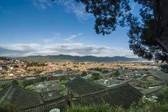 Opinião superior da cidade velha Foto de Stock Royalty Free
