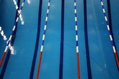 Opinião superior da piscina Fotos de Stock