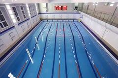 Opinião superior da piscina Foto de Stock