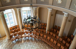 Opinião superior da sala de concertos Imagem de Stock