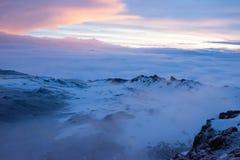Opinião superior de Kilimanjaro Fotos de Stock