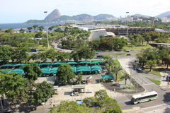 Opinião superior de Rio de janeiro Imagem de Stock