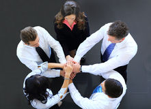 Opinião superior os executivos Fotografia de Stock