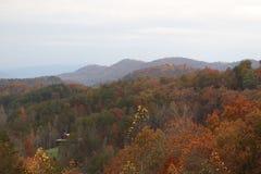 Opinião superior Smokey Mountains fotografia de stock royalty free