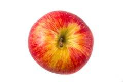 Opinião superior vermelha de Apple Imagens de Stock Royalty Free