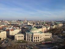 Opinião superior Wien das construções históricas Fotografia de Stock Royalty Free