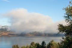 Opinião surpreendente do outono do reservatório de Batak, montanha de Rhodopes Fotografia de Stock Royalty Free