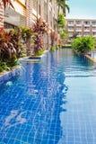 Opinião tailandesa da associação do hotel fotografia de stock royalty free