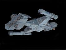 Opinião traseira da nave espacial Fotografia de Stock