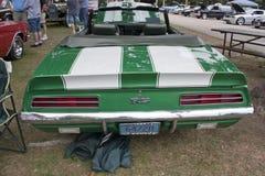 Opinião 1969 traseira de Chevy Camaro RS foto de stock