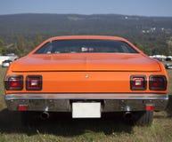 Opinião traseira do carro americano do músculo Imagens de Stock