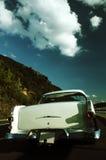 Parte traseira de um carro clássico imagens de stock