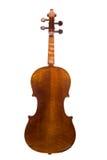 Opinião traseira do violino imagem de stock royalty free