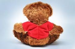 Opinião traseira o urso de peluche imagem de stock royalty free