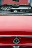 Opinião traseira traseira Ford Mustang retro clássico GT Imagem de Stock Royalty Free